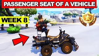 Deal  Damage while in the Passenger Seat of a Vehicle - Fortnite Week 8 Challenge LOCATION (How to)