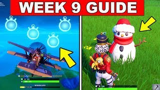 Fortnite ALL Season 7 Week 9 Challenges Guide! Fortnite Battle Royale - Trashbins, Timed Trials