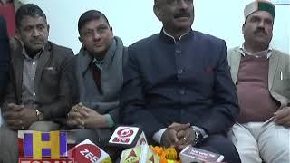 प्रदेश कांग्रेस के नए प्रदेशाध्यक्ष कुलदीप सिंह राठौर का हमीरपुर जिला मेंपहुंचने पर जोरदार स्वागत