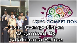 Quiz Competition | Organised by Falaknuma Police | Under Community Policing | Friendly Police | DT