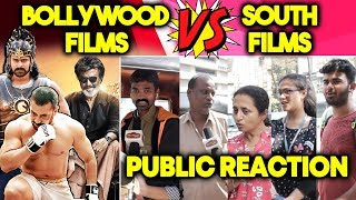 Bollywood Films Vs South Films | PUBLIC REACTION | Which Is BEST?