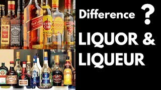 Difference Between Liquor & Liqueurs In Hindi | What is Liquor & Liqueurs | Dada Bartender