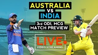 India vs Australia 3rd ODI (2019) | Match Prediction | Cricket Live Streaming