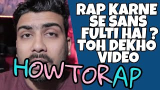 RAPPERS TALK | SANS OR GALE KI DIKKAT KA SOLUTION | HINDI RAPPERS