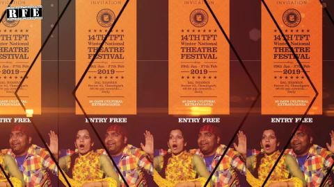 14th TFT Winter Theatre Festival - Invitation | Chandigarh | Theatre For Theatre | RFE