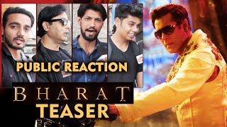 BHARAT TEASER | PUBLIC REACTION | Salman Khan | Katrina Kaif