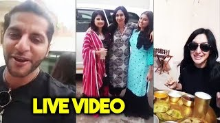 Karanvir Bohra And Teejay Meets Saba And Somi In Jaipur | Live Video