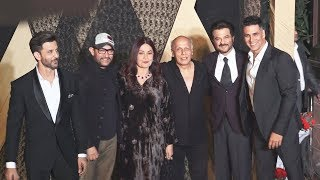 Aamir Khan Akshay Kumar, Hrithik Roshan At Mukesh Bhatt's Daughter Grand Wedding Reception