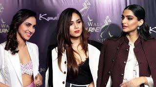 Kunal Rawals Flagship Store Launch   Sonam Kapoor, Mira Rajput, Krystle D'Souza