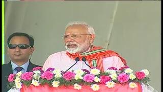 PM Narendra Modi addresses Public Meeting at Madurai, Tamil Nadu