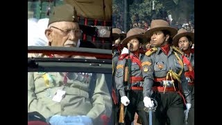 In a first, all-women Assam Rifles contingent, INA veterans participated at R-Day parade