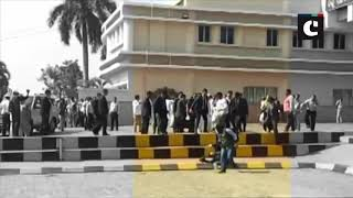 Rahul Gandhi checks on photographer who tripped and fell at Bhubaneswar Airport