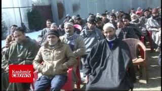 Congress Convention Held In Rafiabad By Congress Leader Altaf Malik