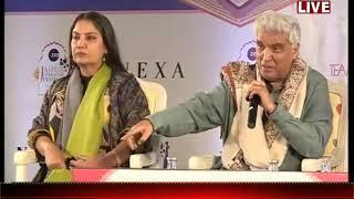जनटीवी लाइव,  शबाना आजमी और जावेद अख्तर जयपुर लिटरेचर फेस्टिवल मे