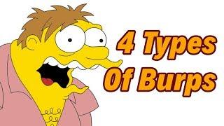 4 types of Burps -- डकार 4 प्रकार के होते हैं