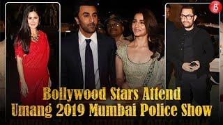UMANG 2019 Mumbai Police Show | Ranbir KapoorAlia Bhatt,Aamir Khan,Katrina Kaif