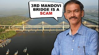 3rd Mandovi bridge is a scam- Cong