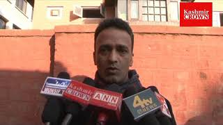 Social Activist Mushtaq Ahmad Chowdery byte