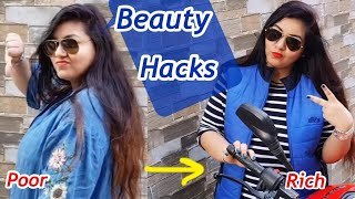 5 Beauty Hacks to Look Good - Look RICH even when you're NOT | JSuper Kaur