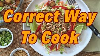 Roti Phulka chapati vegetable - Correct Way to cook