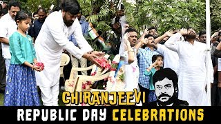 Chiranjeevi Republic Day celebrations in Chiranjeevi Blood Bank | 2019 Latest Updates