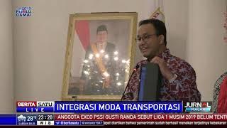 Anies Tindaklanjuti Arahan Wapres Integrasi Transportasi