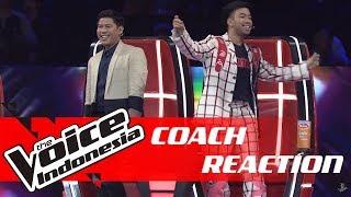 Fun! Kontestan Ini Bikin Coach Vidi & Nino Bergoyang | COACH REACTION | The Voice Indonesia GTV 2018