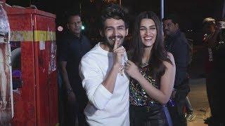Lukka Chuppi Wrap Up Party | CUTE Jodi ???? Kartik Aaryan And Kriti Sanon Together