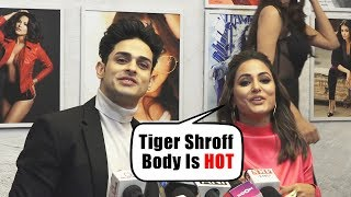 Stunning Hina Khan And Priyank Sharma Together At Dabboo Ratnani Calendar 2019 Launch