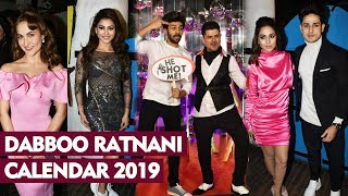 Dabboo Ratnani Calendar 2019 Launch   Kartik Aaryan, Hina Khan, Urvashi, Elli, Priyank Sharma