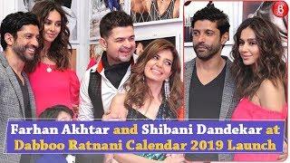 Farhan Akhtar and Shibani Dandekar make it OFFICIAL at Dabboo Ratnani Calendar launch