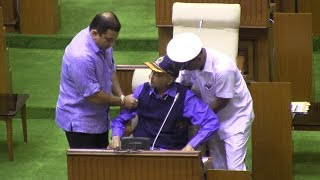 Goa Assembly Winter Session Begins, Parrikar Attends The Session