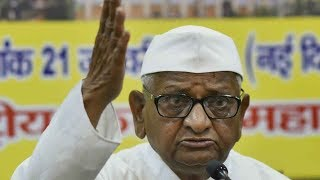 Activist Anna Hazare goes on hunger strike for Lokpal from today