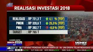 BKPM: Realisasi Investasi Sepanjang 2018 Capai Rp 721,3 Triliun