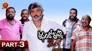 Anando Brahma 2 Full Movie Part 3 - Latest Telugu Full Movies - Ramki, Meenakshi