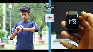 Lifesense Watch l Band 2 l Unboxing l Complete Review l In Hindi