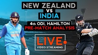 India vs New Zealand 4th ODI (2019) | Pre Match | Cricket Live Streaming