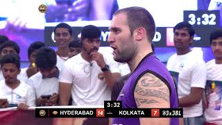 3BL Season 1 Round 6(Mumbai) - Full Game - Day 1 - Hyderabad Ballers vs Kolkata Warriors