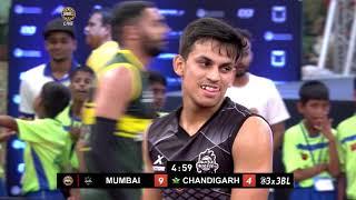 3BL Season 1 Round 6(Mumbai) - Full Game - Day 1 - Mumbai Hustlers vs Chandigarh Beasts