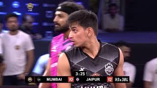 3BL Season 1 Round 6(Mumbai) - Full Game - Day 1 - Mumbai Hustlers vs Jaipur Regals