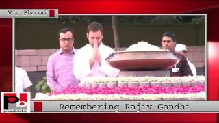 Nation remembers Rajiv Gandhi on his 72st birth anniversary