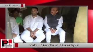 Rahul Gandhi in Gorakhpur (UP)