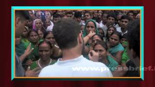 Rahul Gandhi's Kisan Mahayatra in Uttar Pradesh
