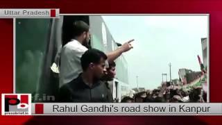 Rahul Gandhi- Kisan Mahayatra in Kanpur Dehat (UP)