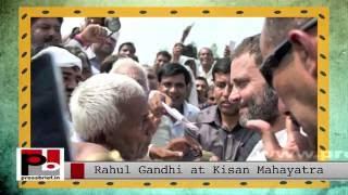 Rahul Gandhi at Kisan Mahayatra in Kanpur (UP)