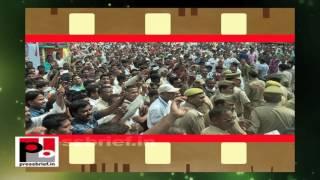 Rahul Gandhi at Kisan Mahayatra in Raebareli (UP)