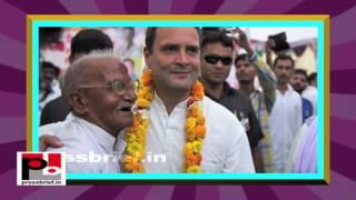 Rahul Gandhi Road Show in Lakhimpur Kheri