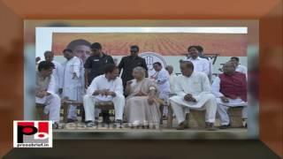 Rahul Gandhi- Kisan Mahayatra in Bulandshahr, Uttar Pradesh