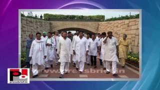 Rahul Gandhi- Kisan Mahayatra in Meerut, Uttar Pradesh