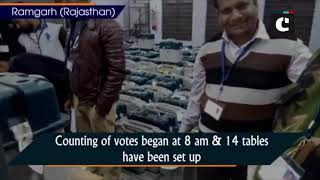 Counting of votes underway in Jind, Ramgarh